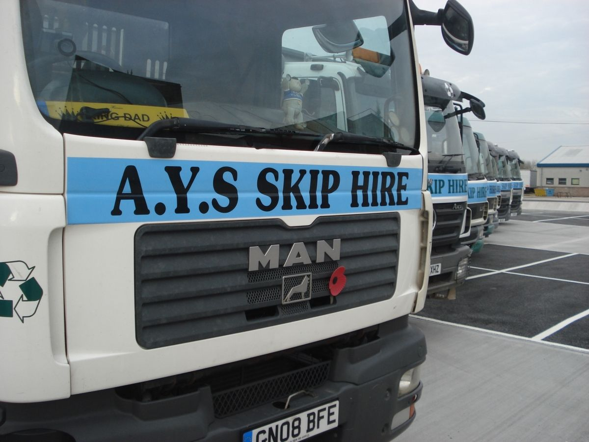 Skip Hire Business in Wimborne, Dorset