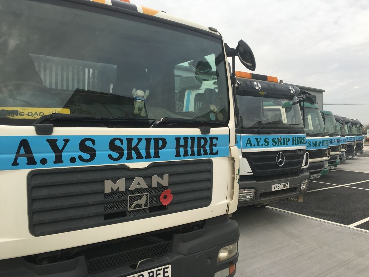 Our Fleet of Skip Vehicles